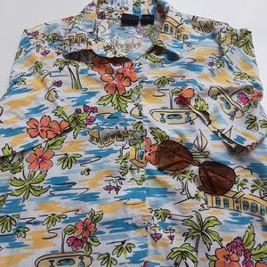 Erika Button Down Shirt Size Medium